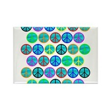 PEACE 33 Rectangle Magnet