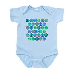 PEACE 33 Infant Bodysuit