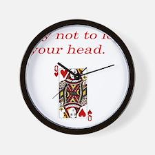 Unique Cat head Wall Clock