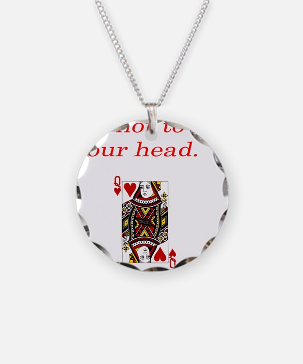Cute Head off Necklace