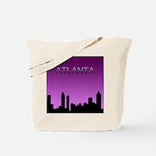 Atlanta Nites Tote Bag
