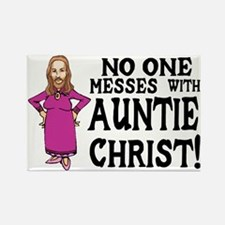 Auntie Christ Rectangle Magnet
