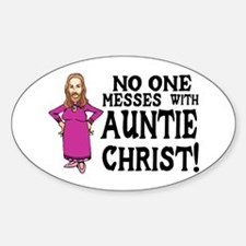 Auntie Christ Decal