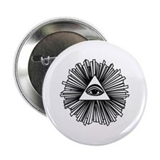 """All seeing eye 2.25"""" Button (10 pack)"""
