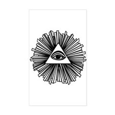 All seeing eye Decal