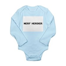 Nerf Herder Long Sleeve Infant Bodysuit