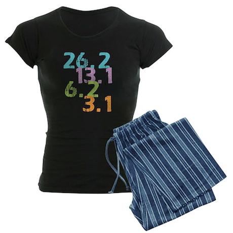 runner distances Women's Dark Pajamas