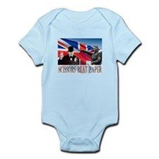 Scissors Beat Paper Infant Bodysuit