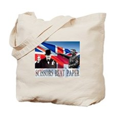 Scissors Beat Paper Tote Bag