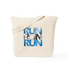 RUN x 3 Tote Bag