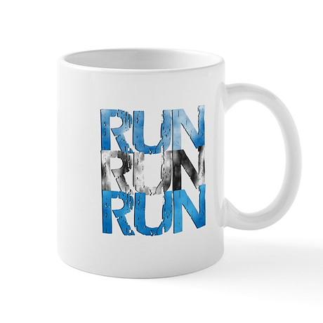 RUN X 3 (Right) Mug