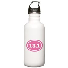 13.1 Pink Oval True Water Bottle