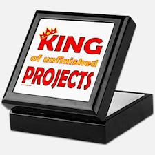 KING OF UNFINISHED PROJECTS Keepsake Box