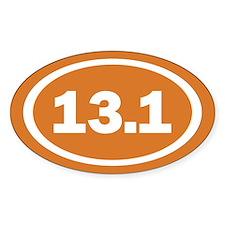 13.1 Burnt Orange True Decal