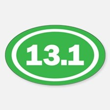 13.1 Green Oval True Decal