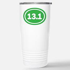 13.1 Green Oval True Travel Mug