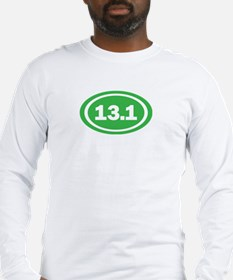13.1 Green Oval True Long Sleeve T-Shirt