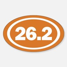 26.2 Burnt Orange True Decal