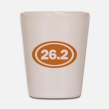 26.2 Burnt Orange True Shot Glass