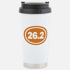 26.2 Burnt Orange True Stainless Steel Travel Mug