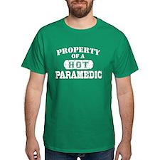 Property of a Hot Paramedic T-Shirt