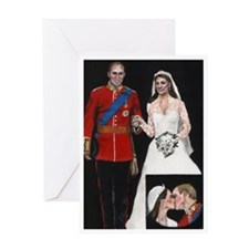 The Royal Couple Greeting Card