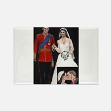 The Royal Couple Rectangle Magnet (100 pack)