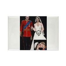 The Royal Couple Rectangle Magnet