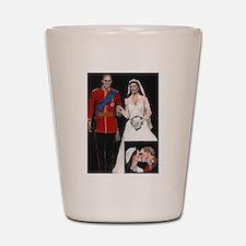 The Royal Couple Shot Glass