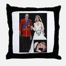 The Royal Couple Throw Pillow