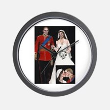 The Royal Couple Wall Clock