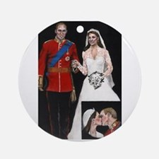 The Royal Couple Ornament (Round)