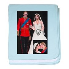 The Royal Couple baby blanket
