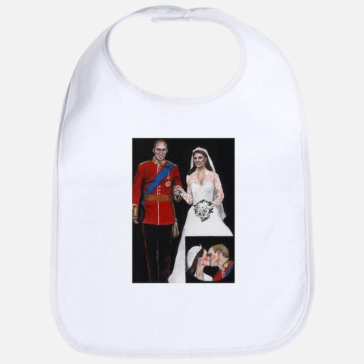 The Royal Couple Bib