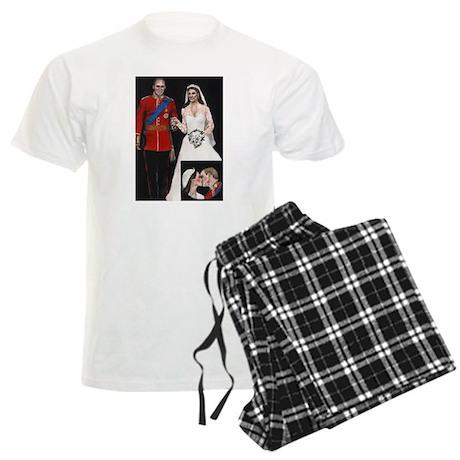 The Royal Couple Men's Light Pajamas