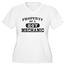 Property of a Hot Mechanic T-Shirt