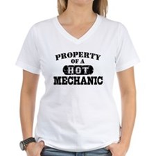 Property of a Hot Mechanic Shirt