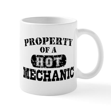 Property of a Hot Mechanic Mug