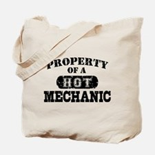 Property of a Hot Mechanic Tote Bag