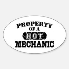 Property of a Hot Mechanic Decal