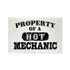 Property of a Hot Mechanic Rectangle Magnet