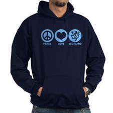 Peace Love Scotland Hoody