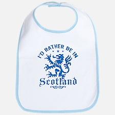I'd Rather Be In Scotland Bib
