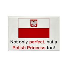"Perfect Polish Princess Magnet (3""x2"")"