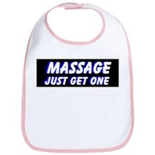 Massage Just Get One Bib
