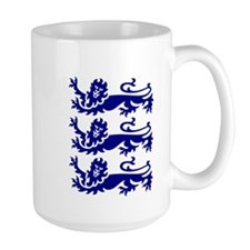 Lionheart Three Lions Mug