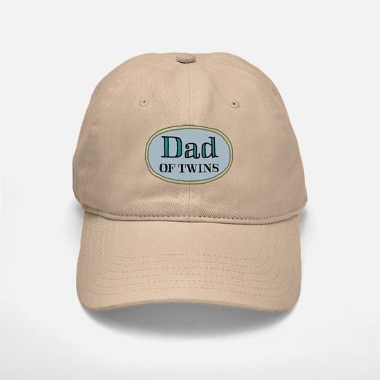 Dad OF TWINS Baseball Baseball Cap
