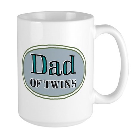 Dad OF TWINS Large Mug