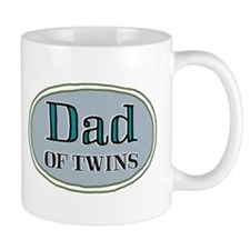 Dad OF TWINS Small Mugs
