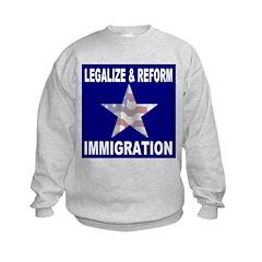 Legalize & Reform Immigration Sweatshirt